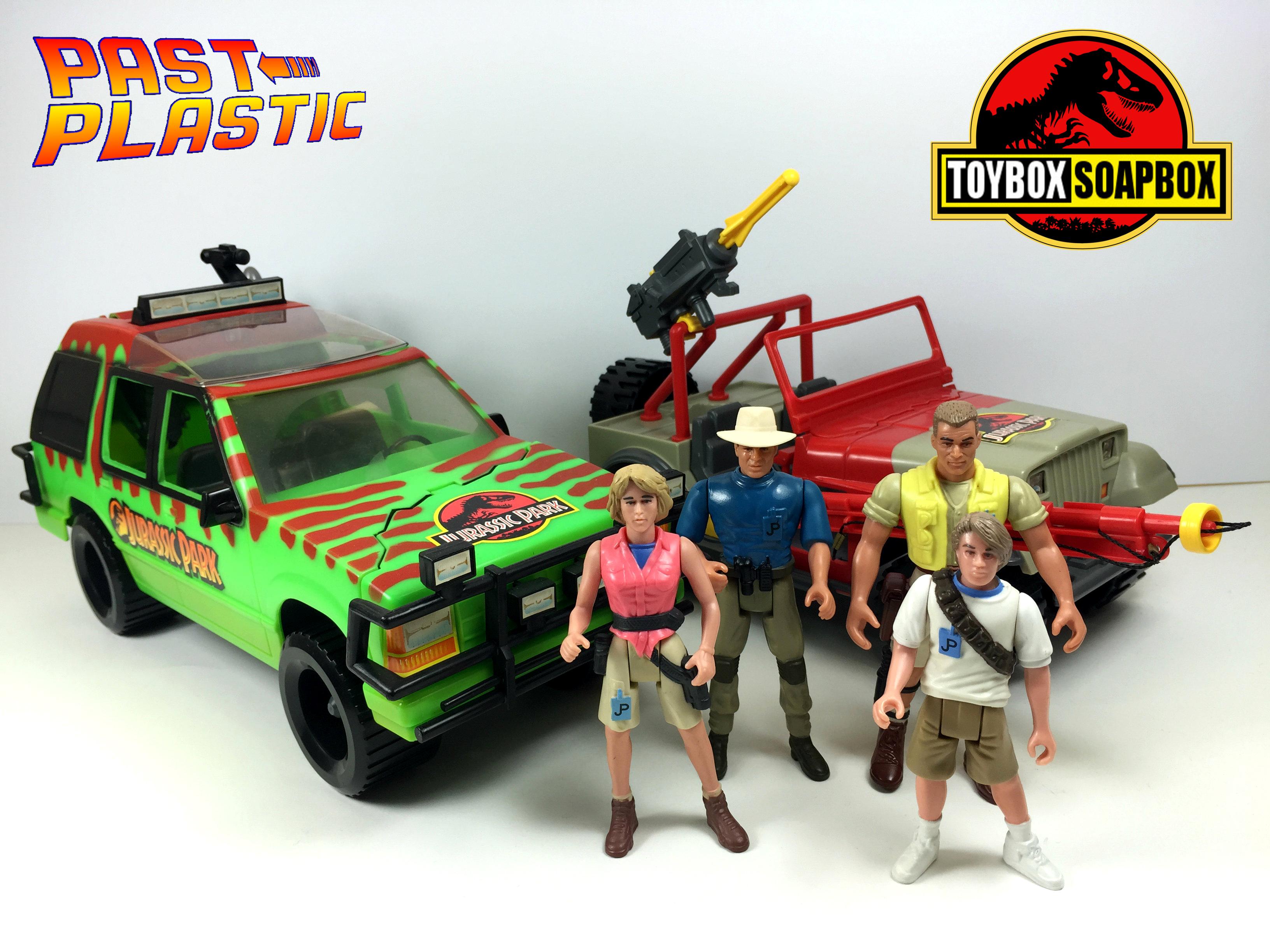 kenner jurassic park toys review
