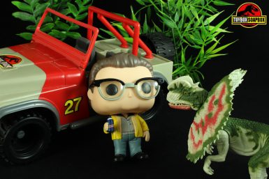 funko pop dennis nedry review