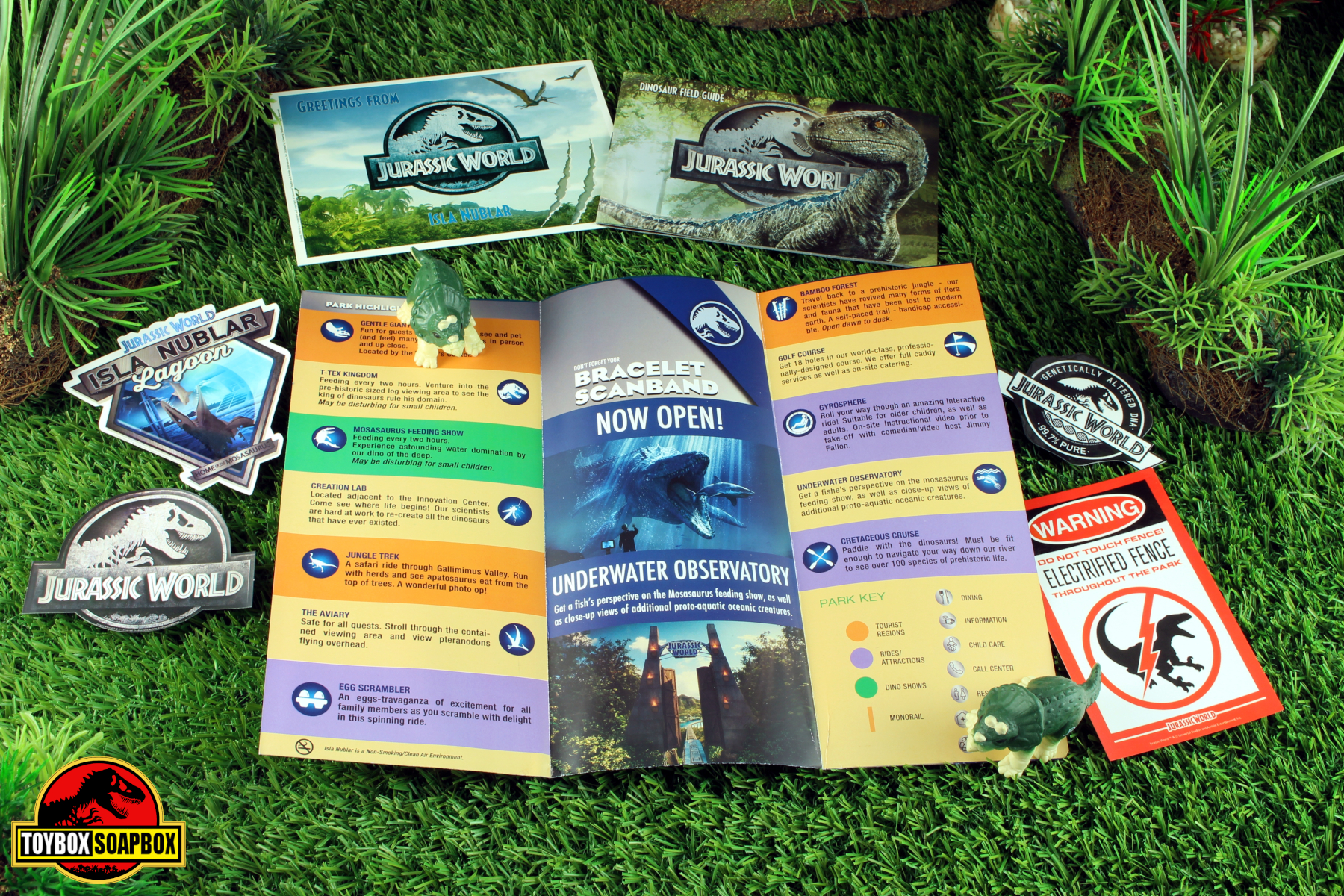 jurassic world welcome kit contents review