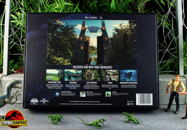 jurassic world deluxe welcome kit back
