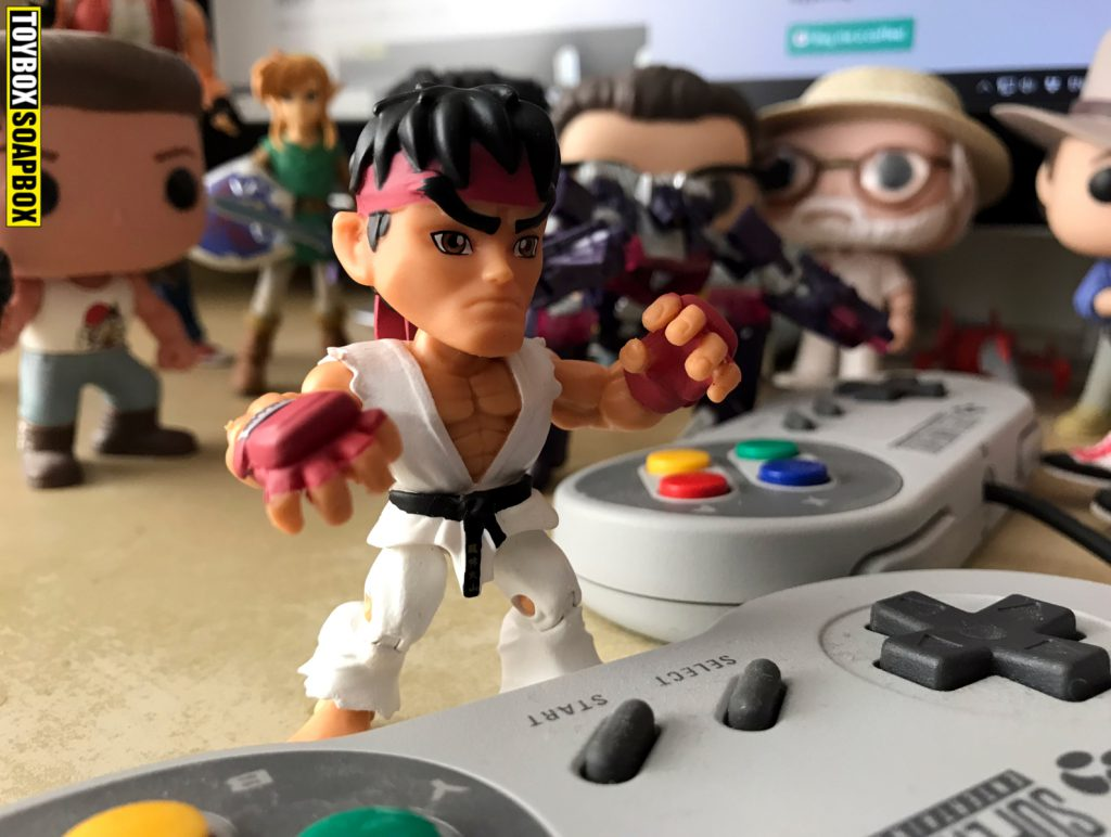 loyal subjects street fighter action vinyls