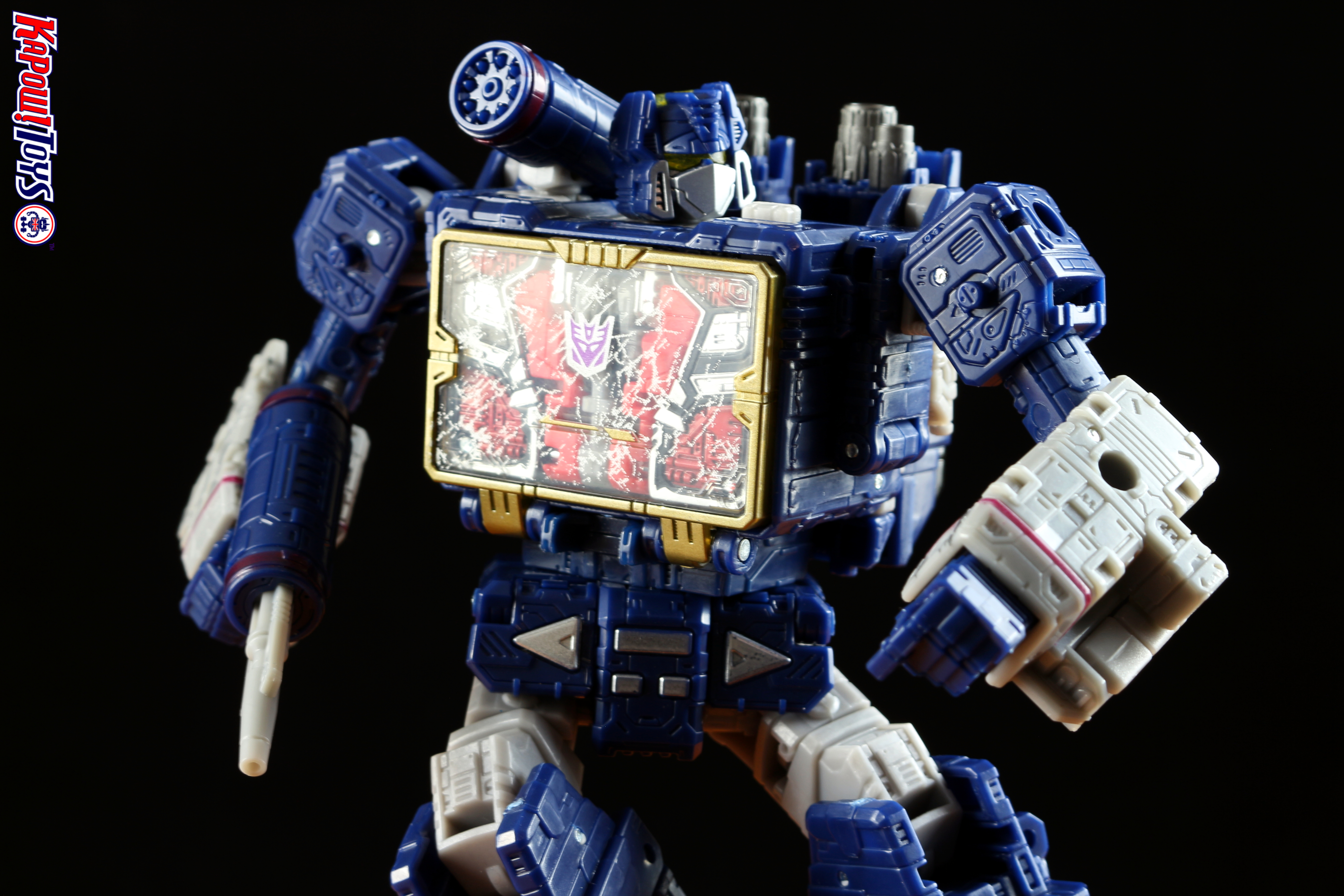 transformers siege soundwave review