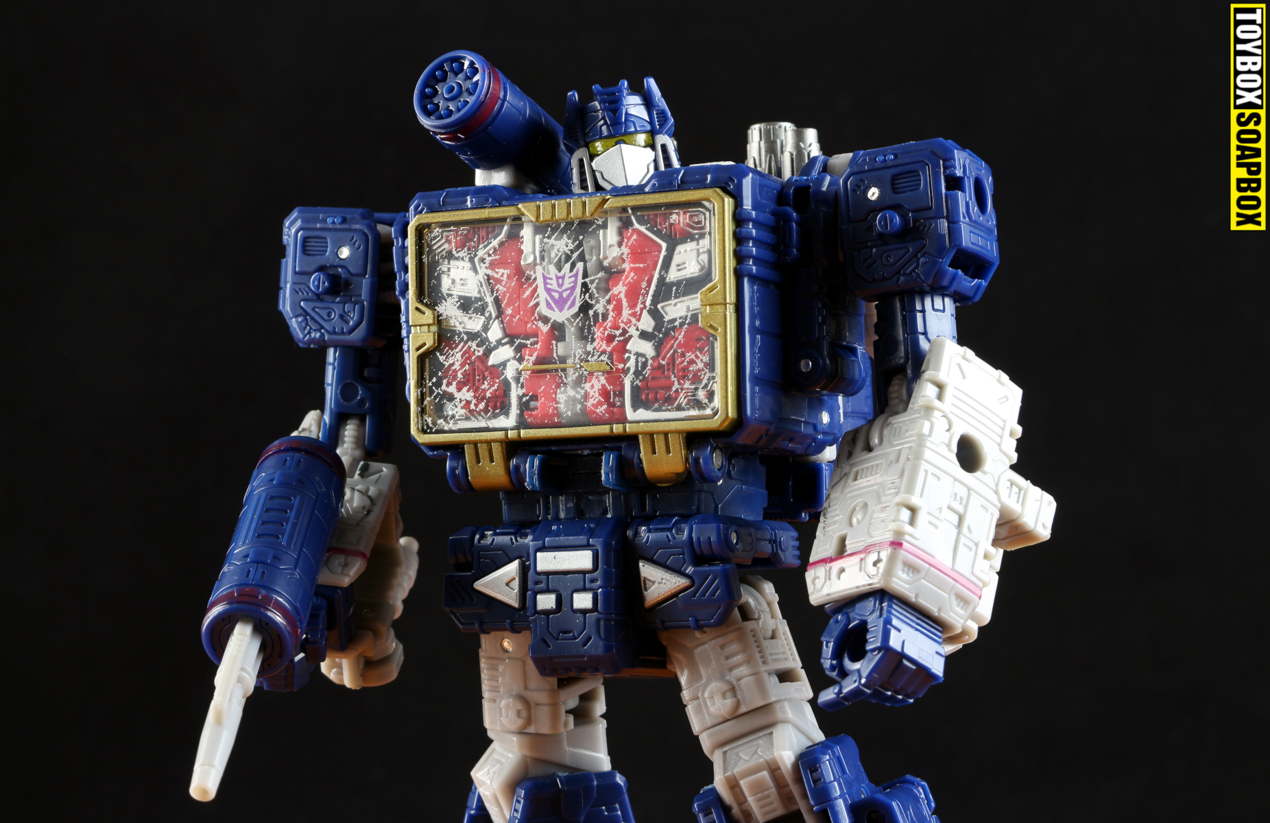 siege soundwave review transformers