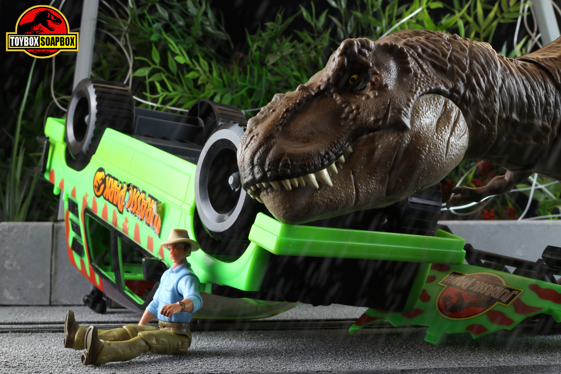 jurassic park kenner explorer grant rex