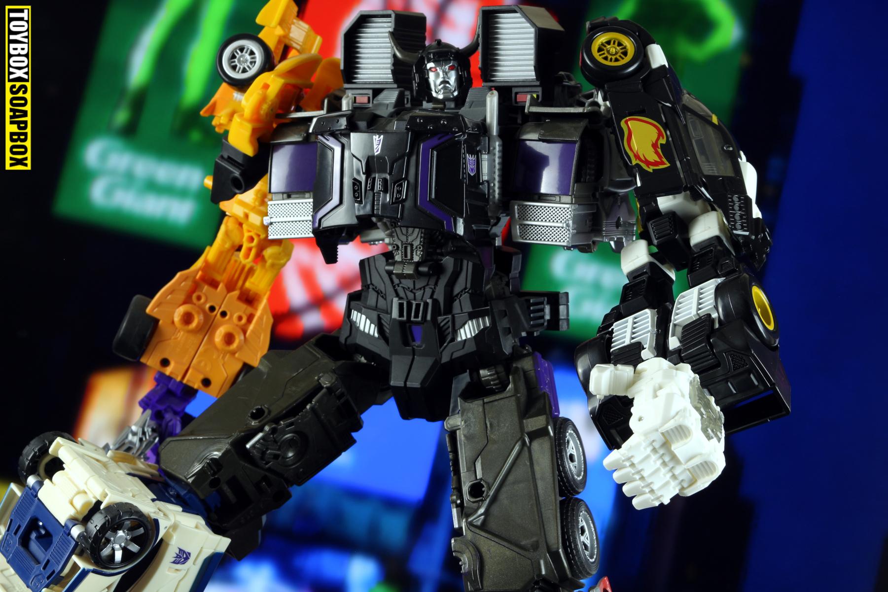 combiner wars menasor potp ricochet combiner arm