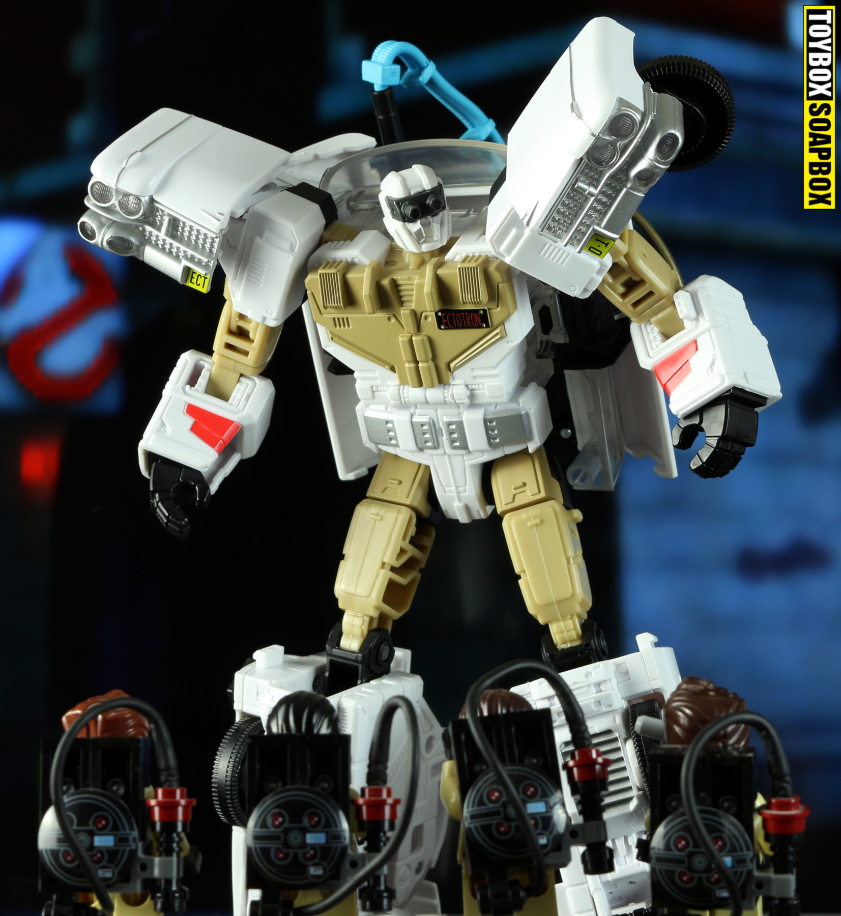 lego ghostbusters ectotron transformers