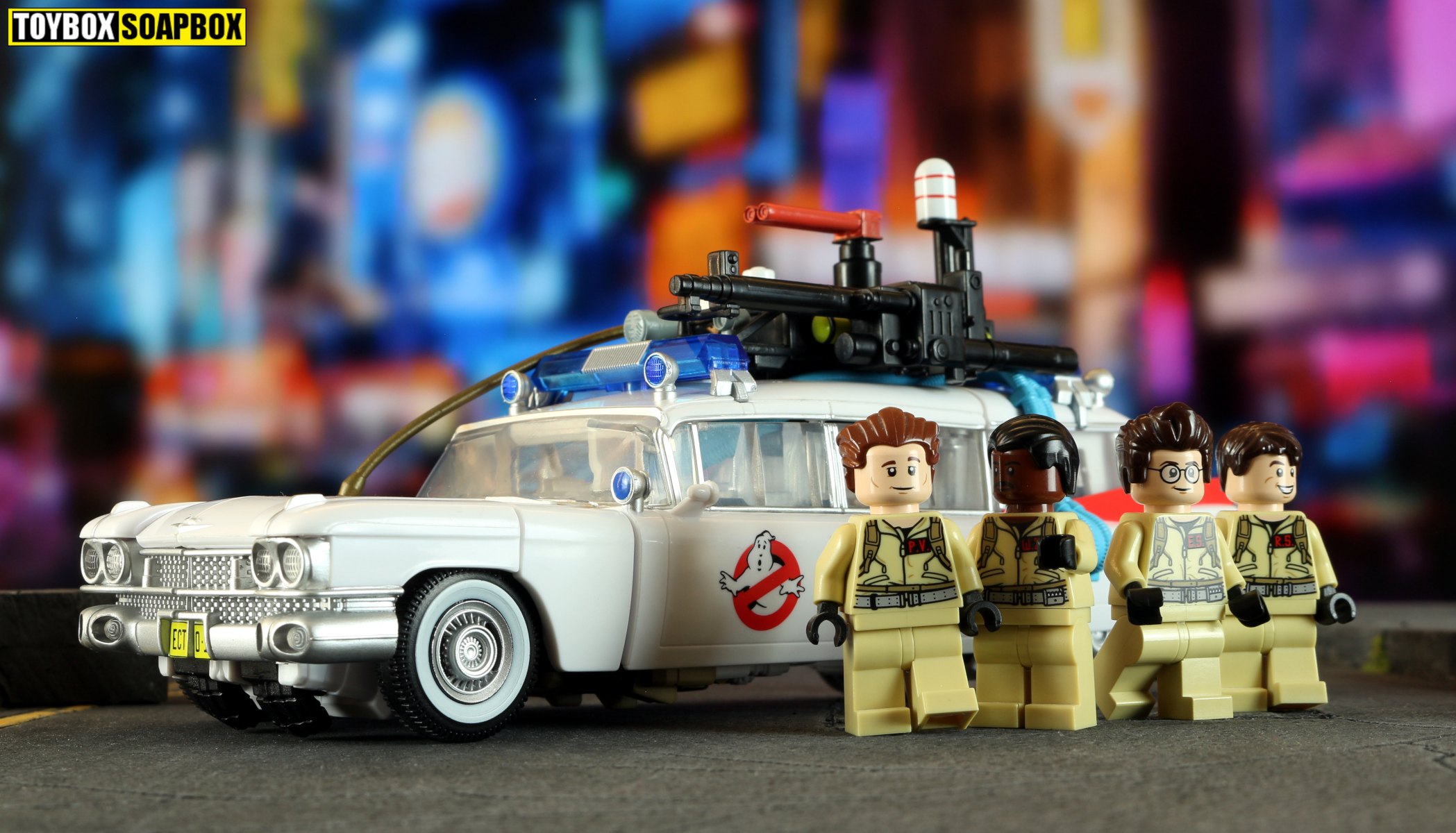 transformers ghosbusters ectotron lego review