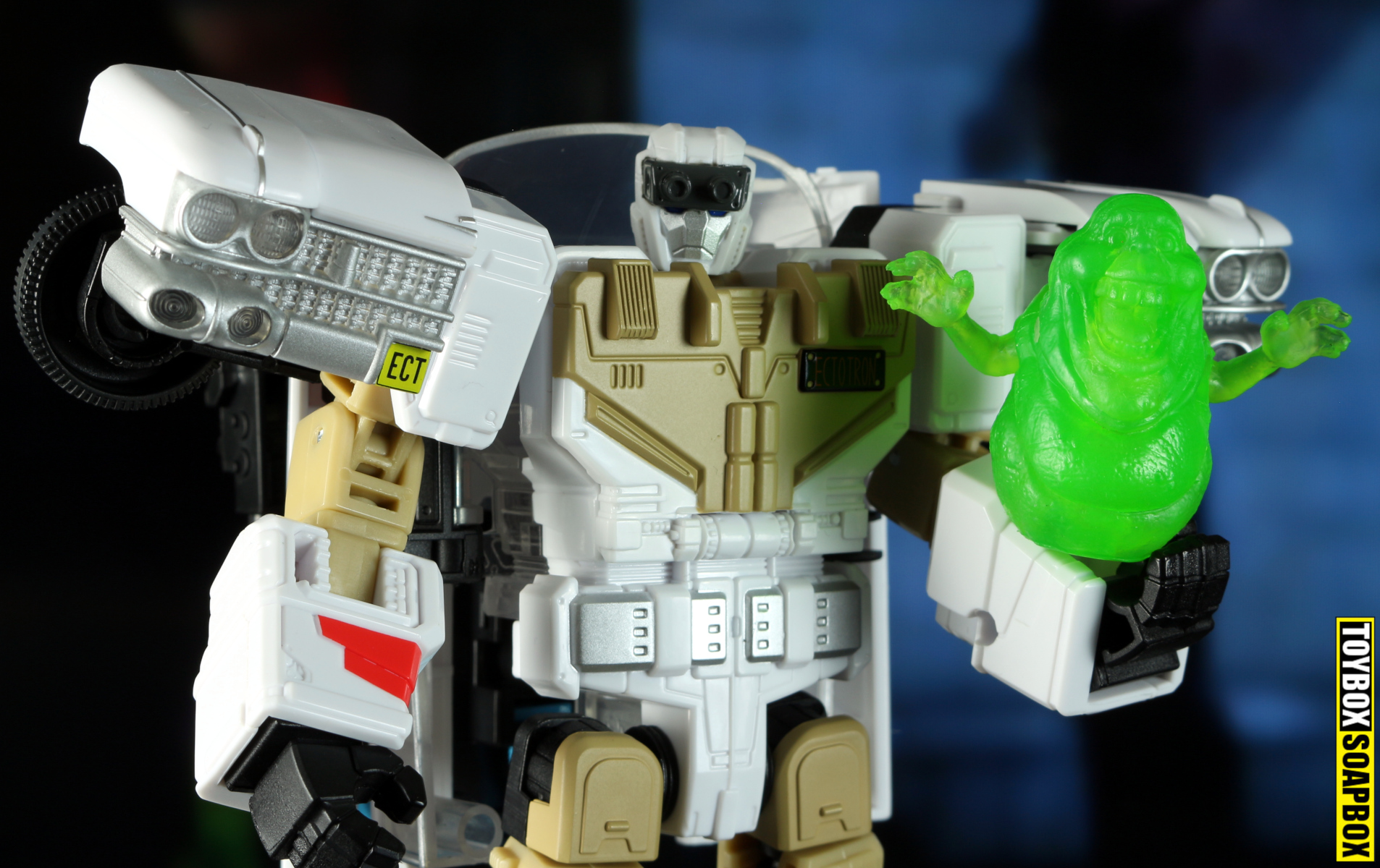 ectotron head and slimer