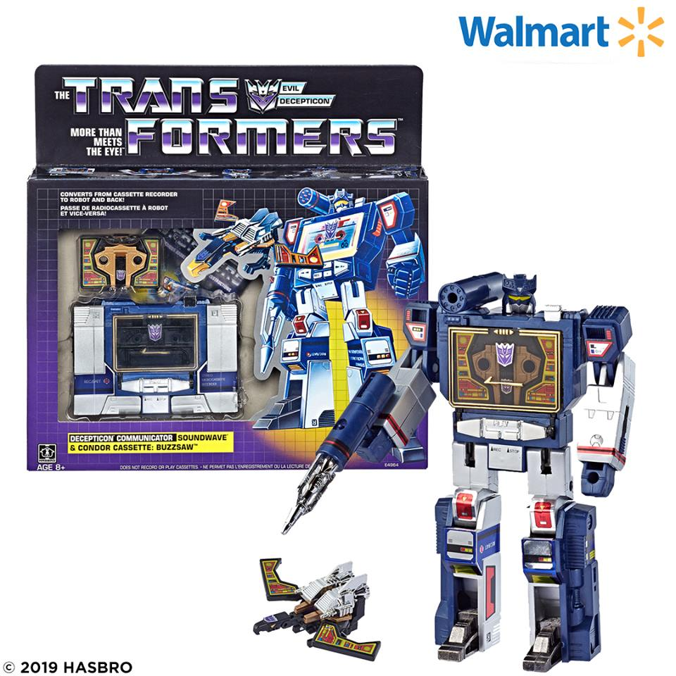 transformers g1 walmart reissue soundwave
