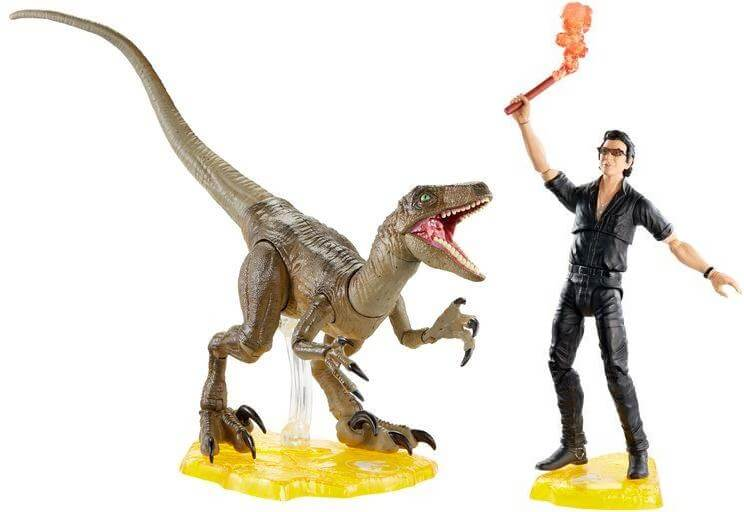 mattel jurassic world amber collection