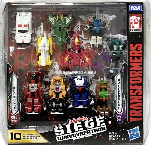 transformers siege micromaster 10 pack