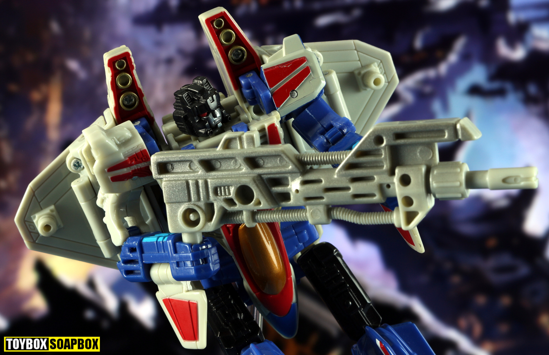 transformers energon starscream gun