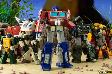 earthrise optimus prime and the autobots