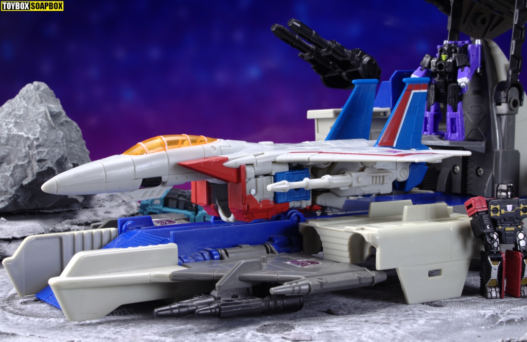 transformers earthrise starscream micromaster skystalker