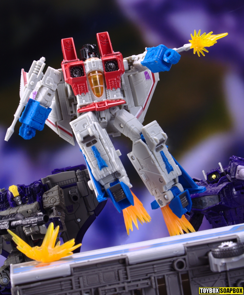 transformers earthrise starscream voyager review astrotrain shockwave