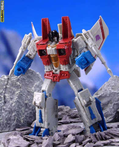 transformers earthrise starscream robot mode
