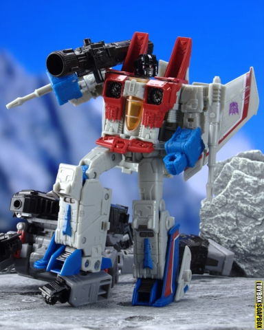 earthrise starscream with megatrons fusion cannon