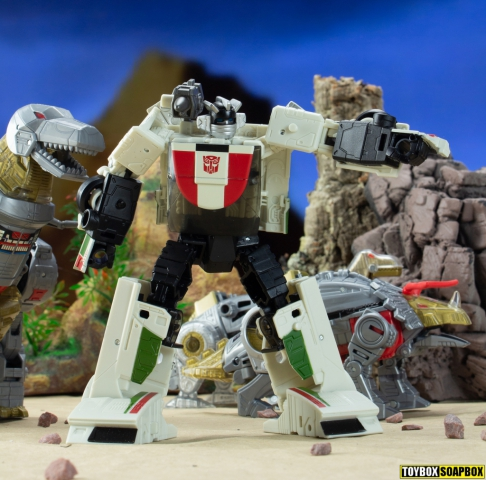 wheeljack and the dinobots