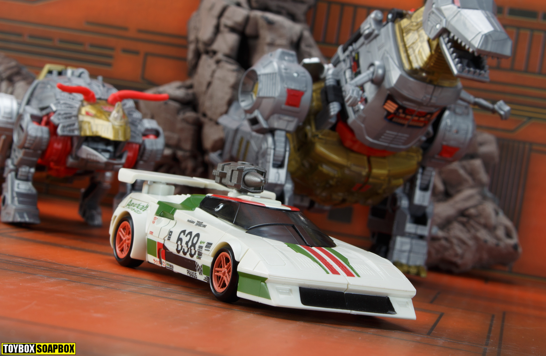 potp dinobots with earthrise wheeljack