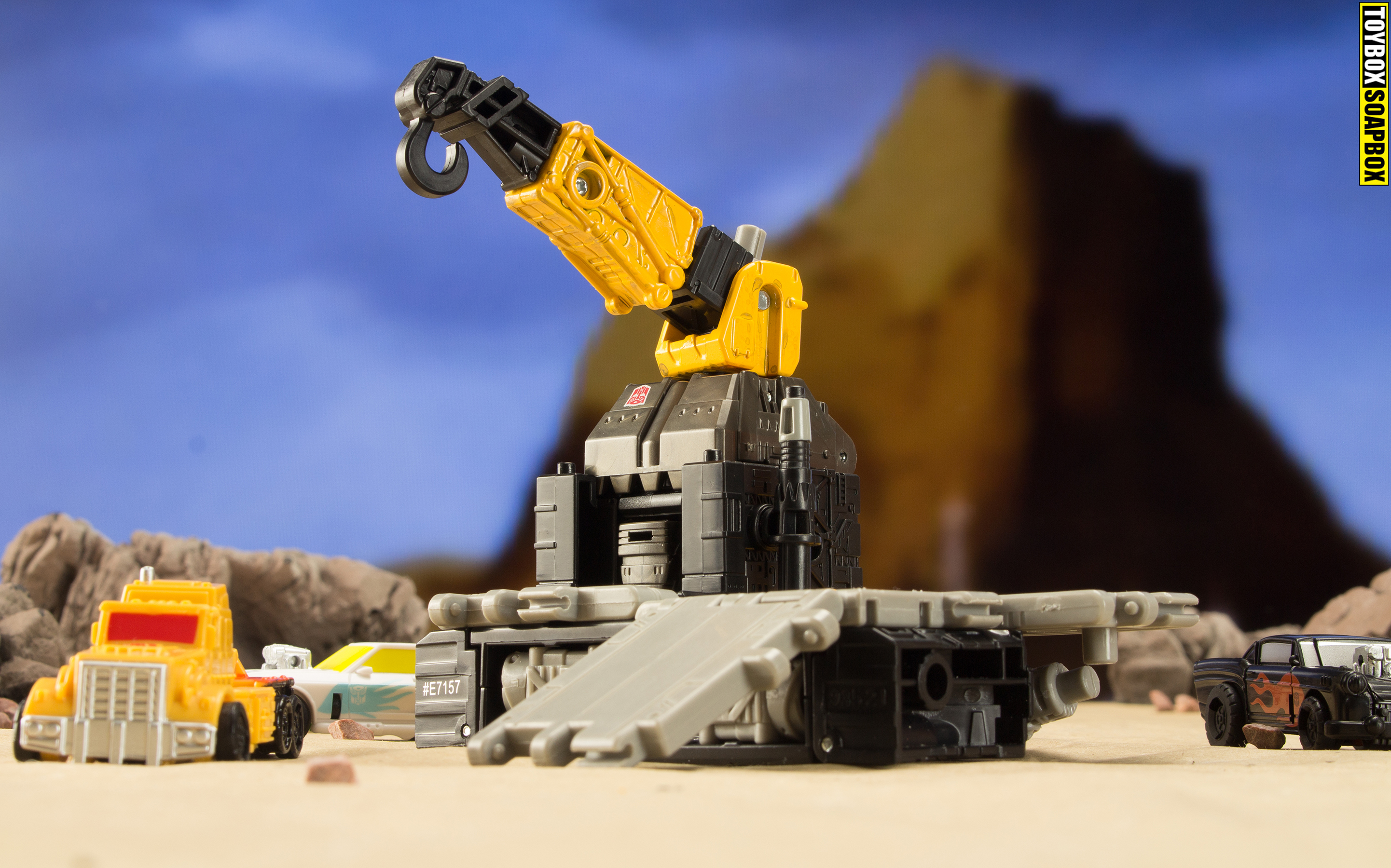 Earthrise Ironworks micromaster base mode 1