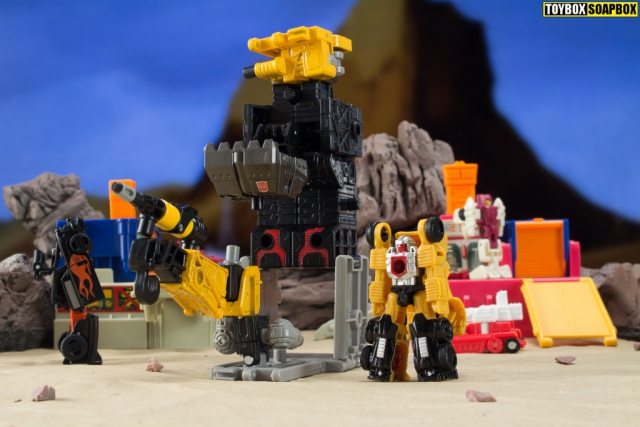 earthrise ironworks base and micromaster