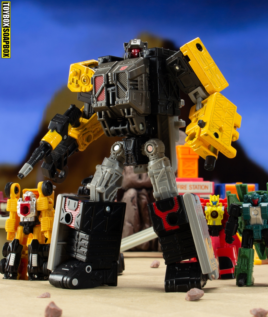 Transformers Earthrise Ironworks robot review