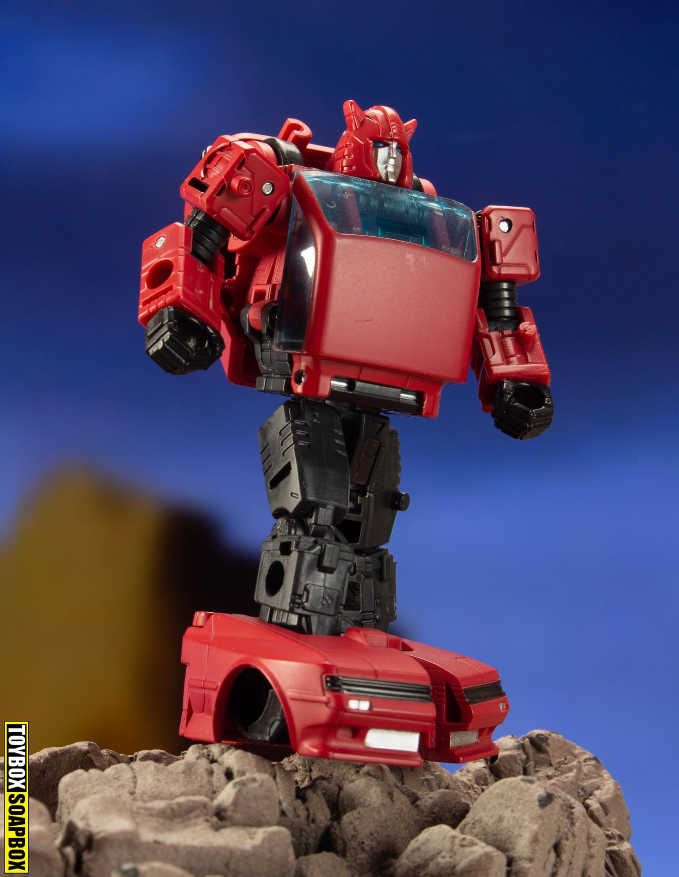 transformers earthrise cliffjumper robot mode