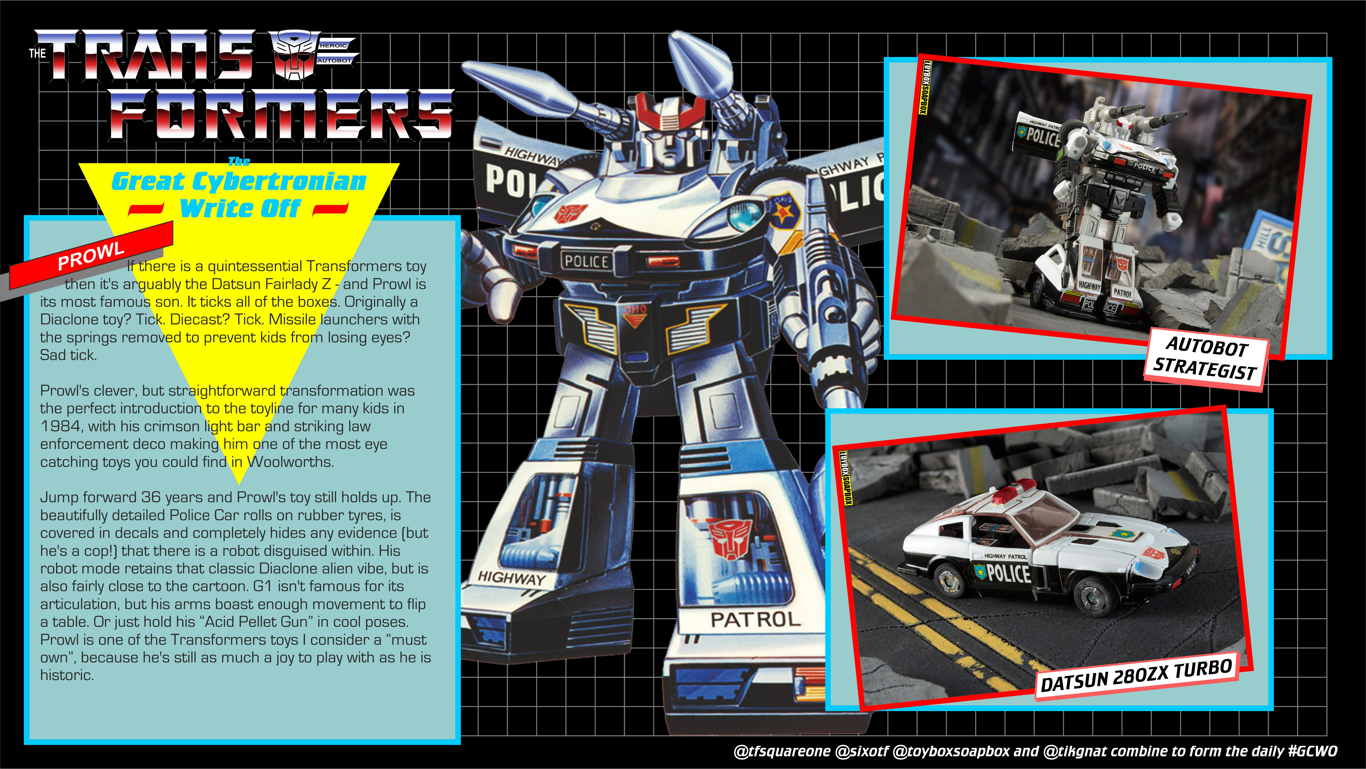 #gcwo review of transformers g1 prowl
