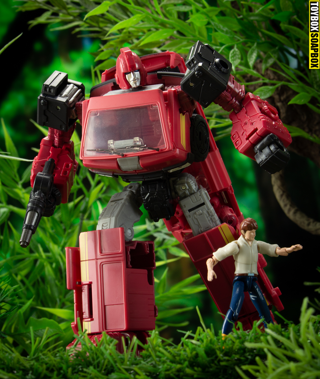 autobot alliance ironhide with spike