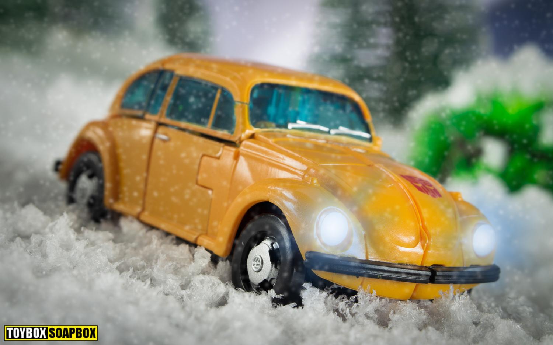 Earthrise bumblebee volkswagen beetle mode