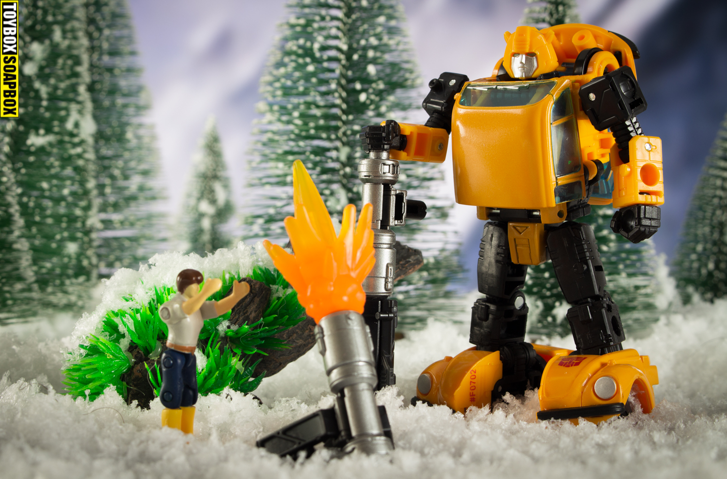 transformers generations bumblebee and spike