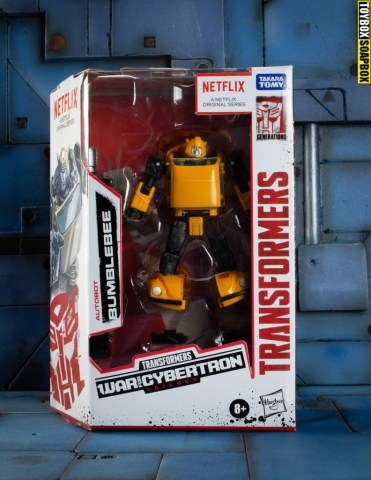 Netflix bumblebee in box review