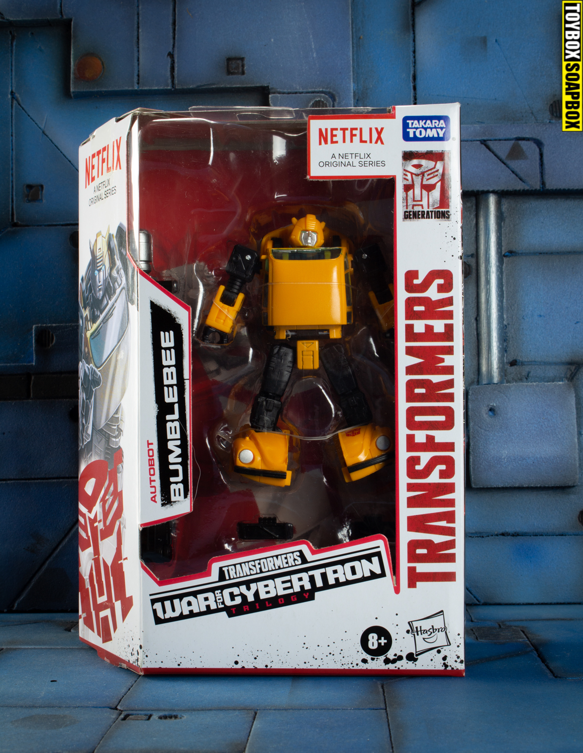 Netflix bumblebee in box review